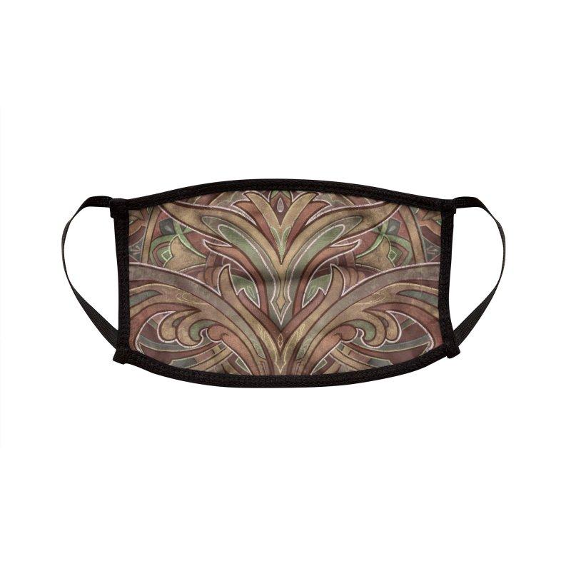 Terry Ribera Art Nouveau Mask Accessories Face Mask by RemingtonTattoo's Artist Shop
