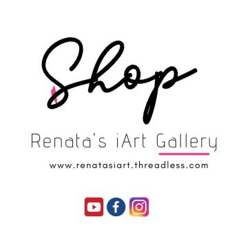 Renata's iArt Gallery Logo