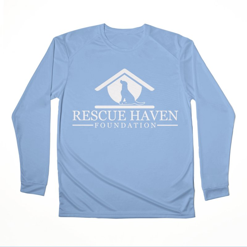 RHF White Logo Men's Longsleeve T-Shirt by Rescue Haven Foundation Shop