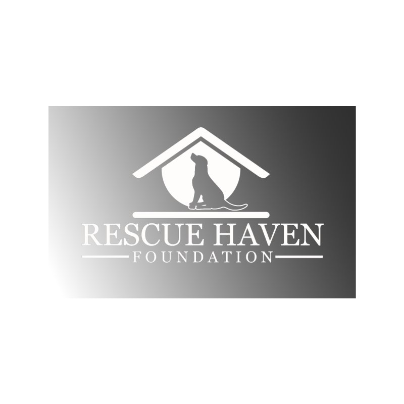 RHF Logo B&W Mask Accessories Face Mask by Rescue Haven Foundation Shop