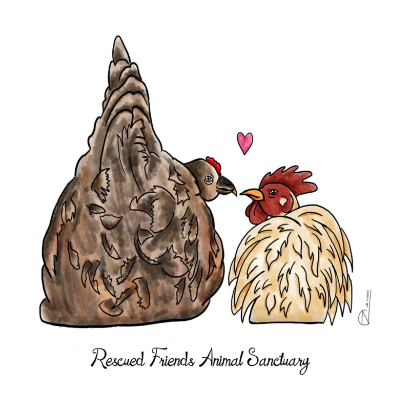 DeeDee Loves Poudre by RescuedFriends 's Artist Shop