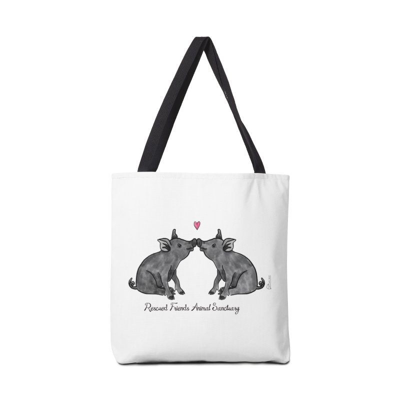 Pumba Loves Lily Accessories Bag by RescuedFriends 's Artist Shop