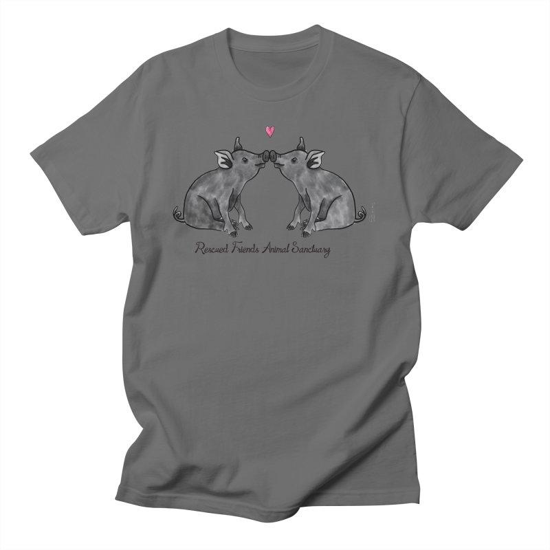 Pumba Loves Lily Men's T-Shirt by RescuedFriends 's Artist Shop
