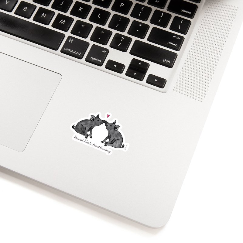 Pumba Loves Lily Accessories Sticker by RescuedFriends 's Artist Shop