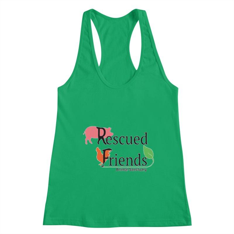 Original Rescued Friends Logo Women's Tank by RescuedFriends 's Artist Shop