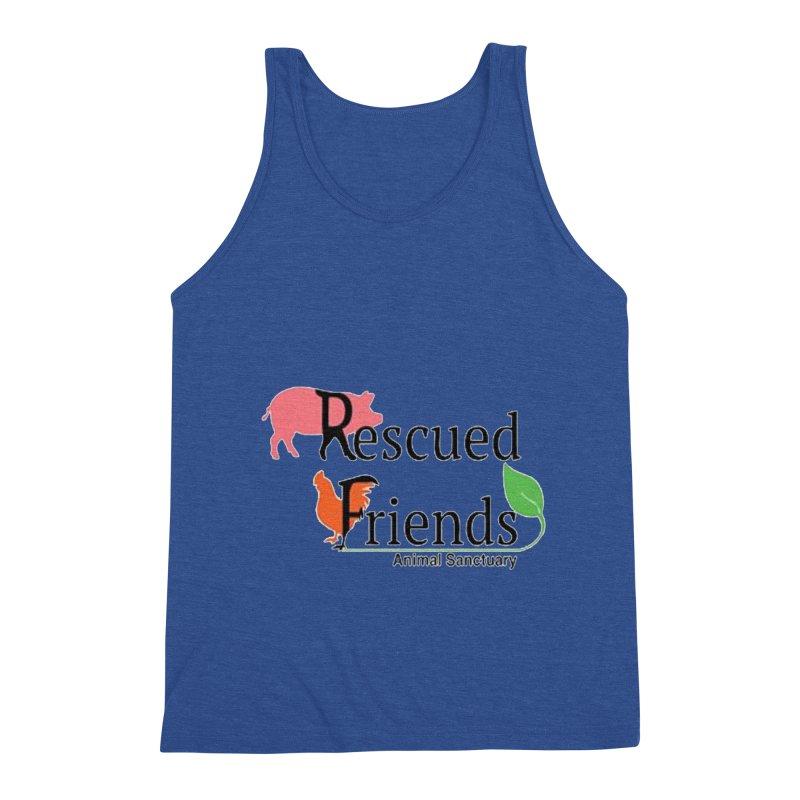 Original Rescued Friends Logo Men's Tank by RescuedFriends 's Artist Shop