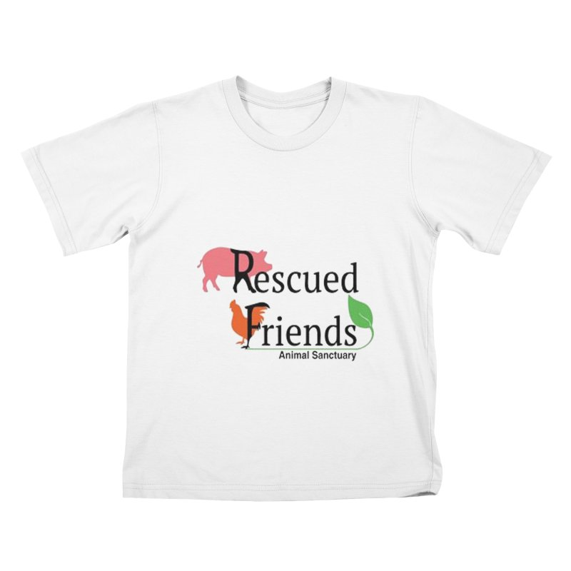 Original Rescued Friends Logo Kids T-Shirt by RescuedFriends 's Artist Shop