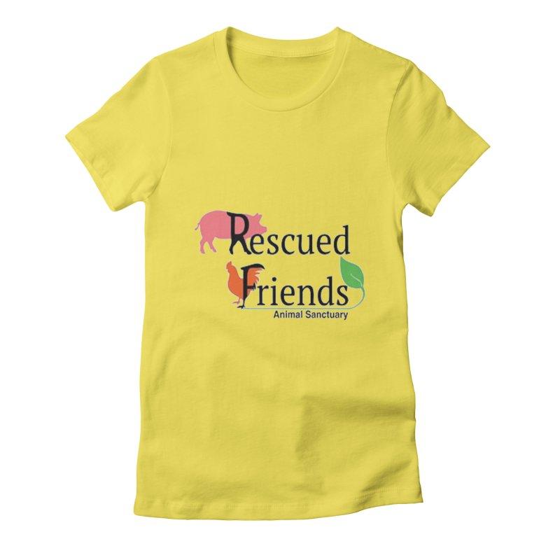 Original Rescued Friends Logo Women's T-Shirt by RescuedFriends 's Artist Shop