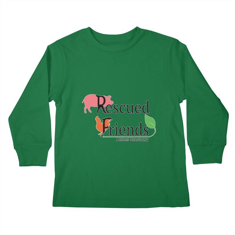 Original Rescued Friends Logo Kids Longsleeve T-Shirt by RescuedFriends 's Artist Shop