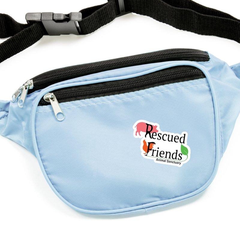 Original Rescued Friends Logo Accessories Sticker by RescuedFriends 's Artist Shop