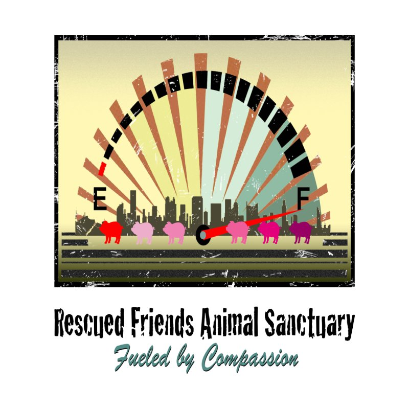 Fueled by Compassion Gauge by RescuedFriends 's Artist Shop