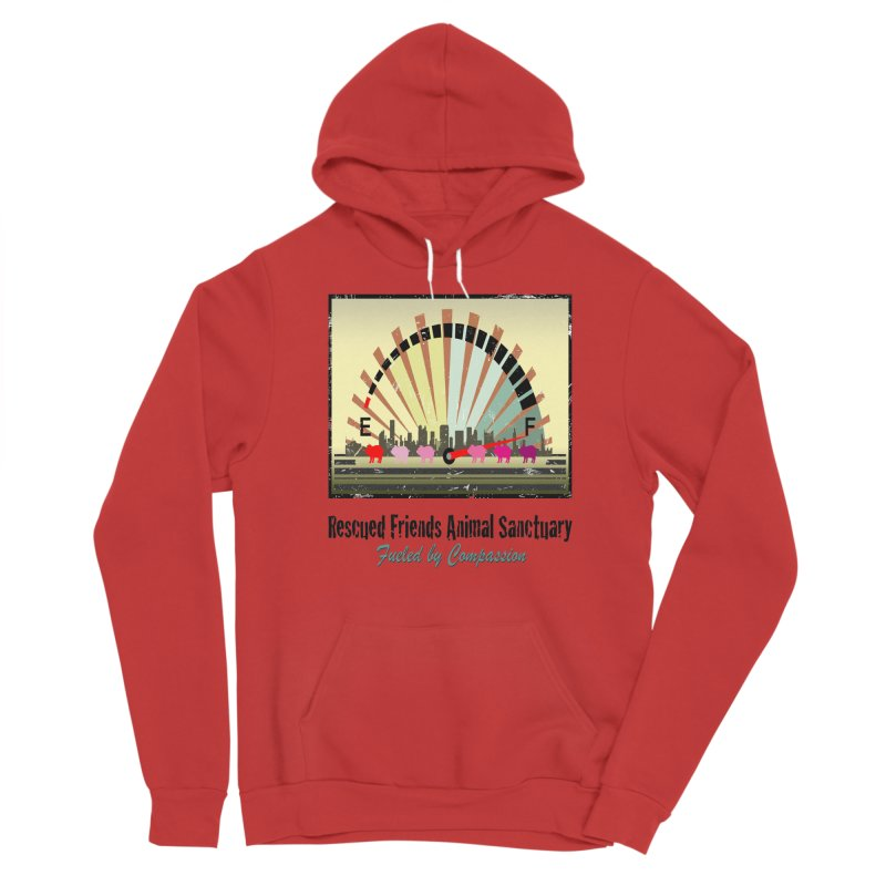 Fueled by Compassion Gauge Women's Pullover Hoody by RescuedFriends 's Artist Shop