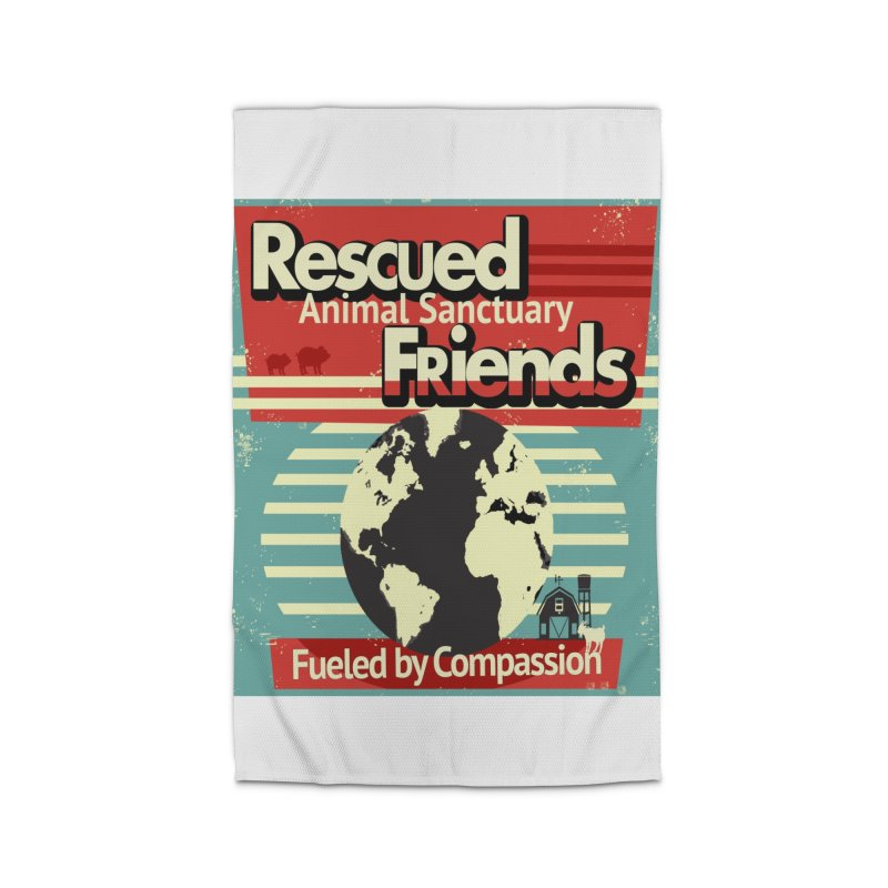 Fueled by Compassion World Graphic Home Rug by RescuedFriends 's Artist Shop