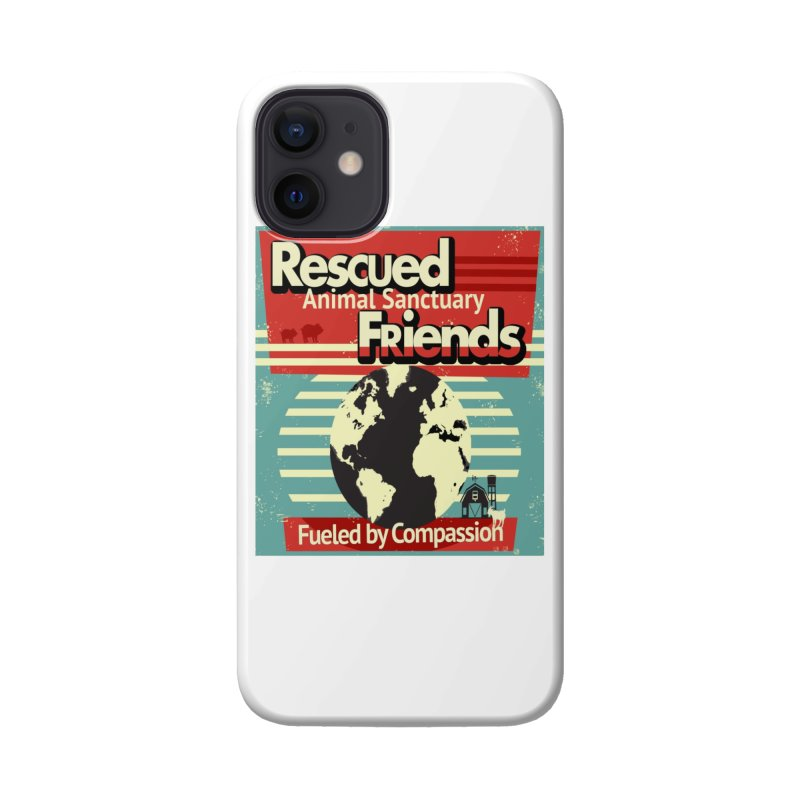Fueled by Compassion World Graphic Accessories Phone Case by RescuedFriends 's Artist Shop