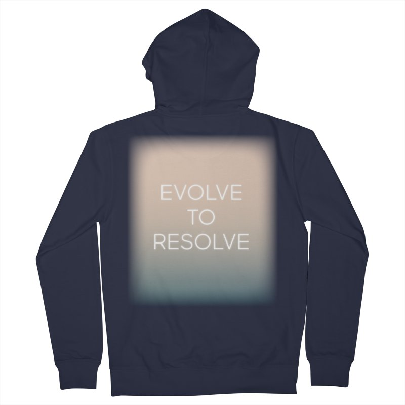 Evolve to Resolve Women's French Terry Zip-Up Hoody by Resist Hate