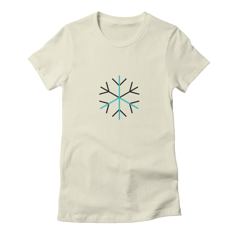 Snowflake Peace Women's T-Shirt by Resist Hate
