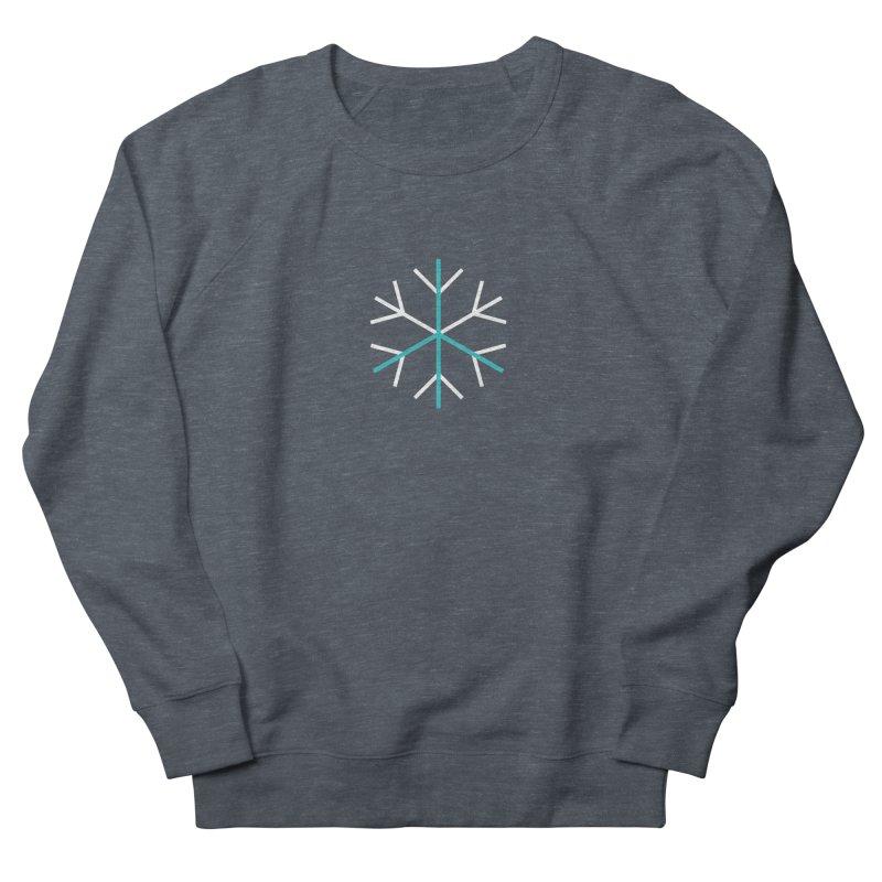 Peace Snowflake Men's French Terry Sweatshirt by Resist Hate