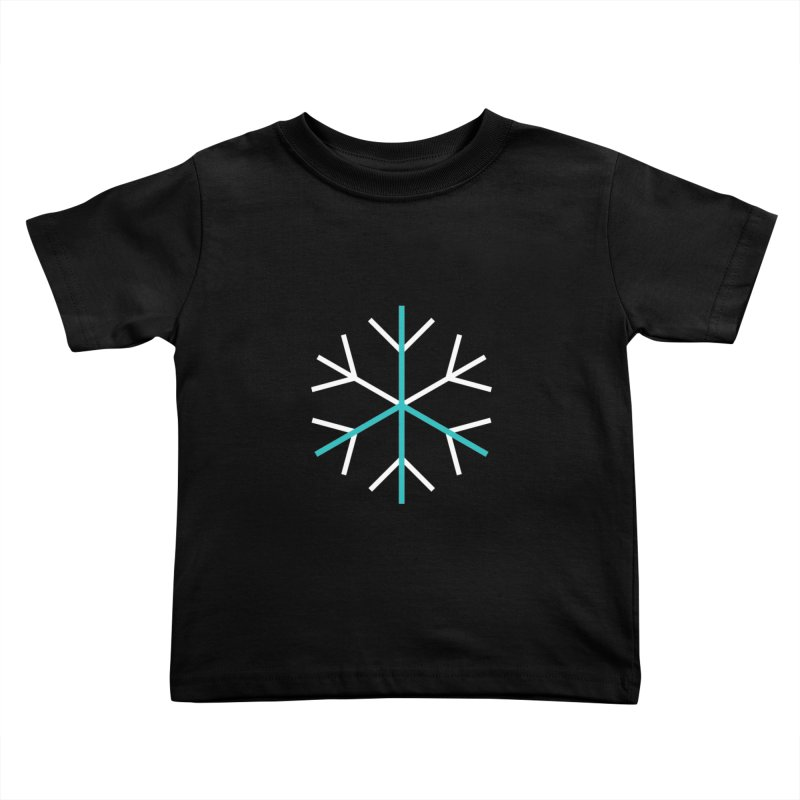 Peace Snowflake Kids Toddler T-Shirt by Resist Hate