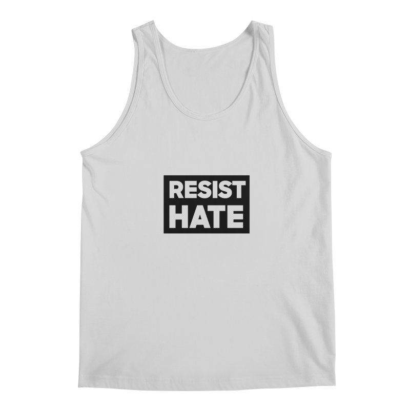 Resist Hate Square Men's Regular Tank by Resist Hate