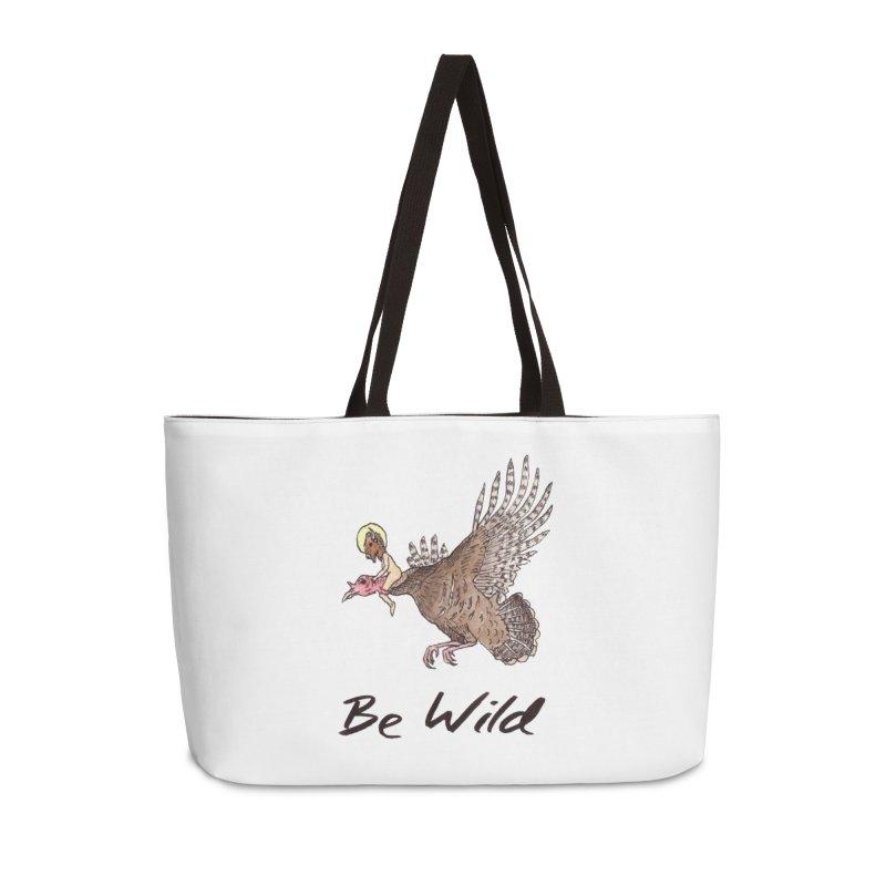 Be Wild Accessories Weekender Bag Bag by Resist Hate