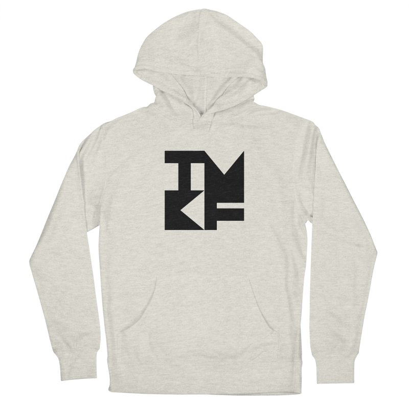TMKF Block black (This Machine Kills Fascists) Men's French Terry Pullover Hoody by Resist Hate
