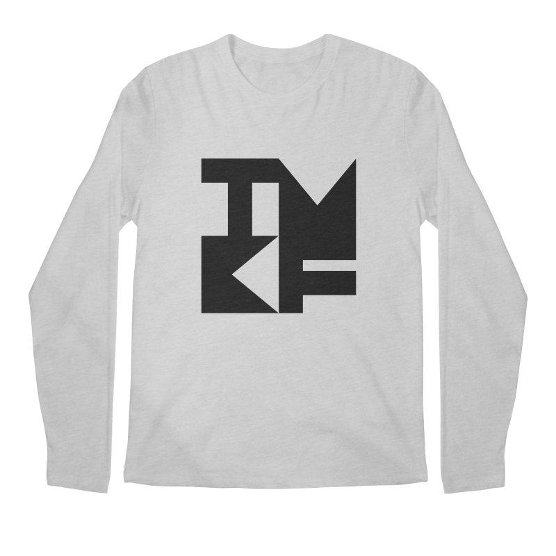 TMKF Block black (This Machine Kills Fascists) Men's Regular Longsleeve T-Shirt by Resist Hate