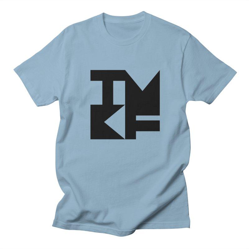 TMKF Block black (This Machine Kills Fascists) Women's Regular Unisex T-Shirt by Resist Hate
