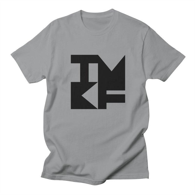 TMKF Block black (This Machine Kills Fascists) Men's Regular T-Shirt by Resist Hate