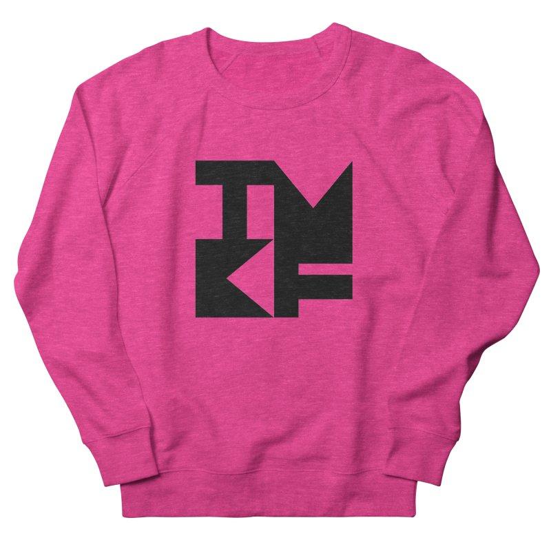 TMKF Block black (This Machine Kills Fascists) Men's French Terry Sweatshirt by Resist Hate