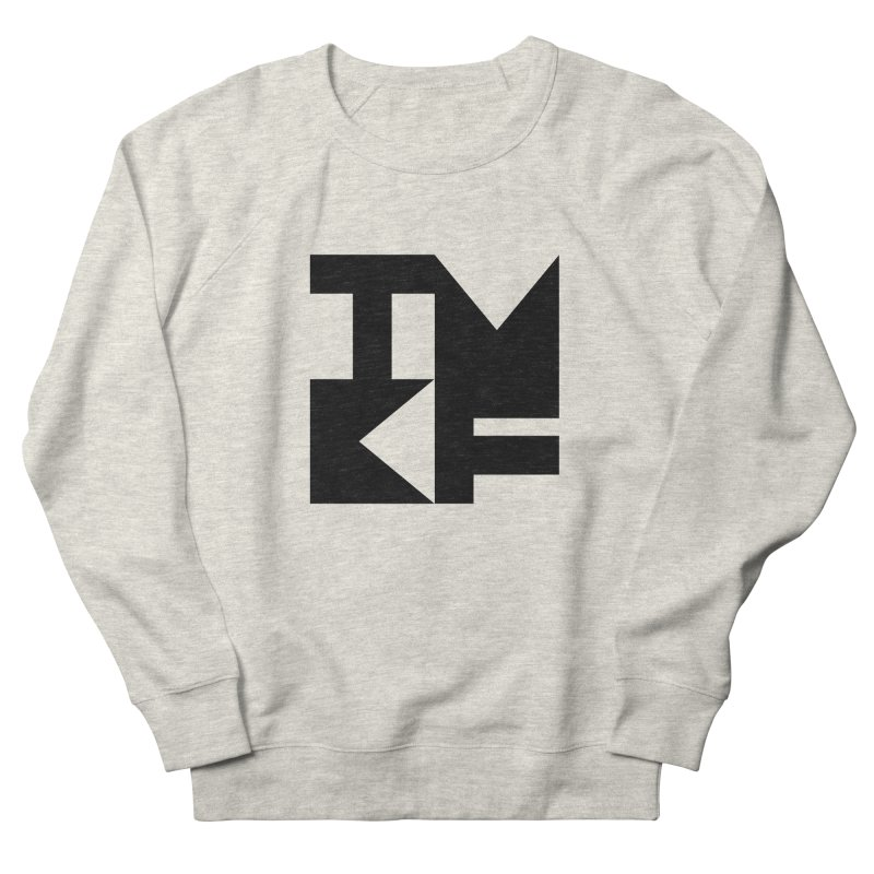 TMKF Block black (This Machine Kills Fascists) Men's Sweatshirt by Resist Hate