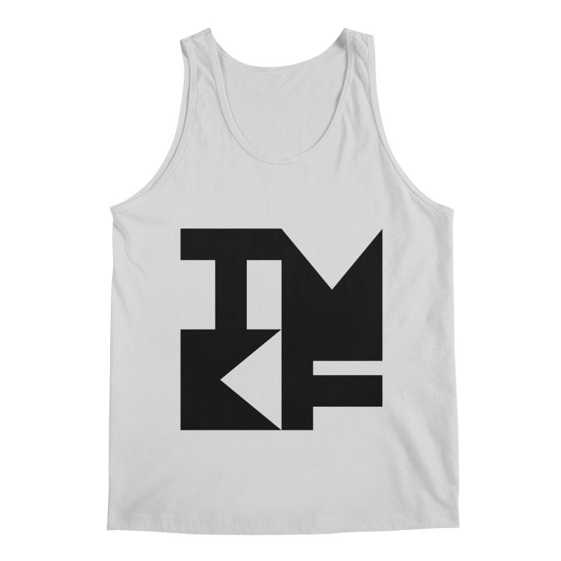 TMKF Block black (This Machine Kills Fascists) Men's Regular Tank by Resist Hate