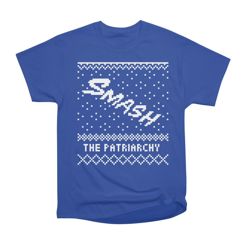 Smash The Patriarchy XMAS Men's Heavyweight T-Shirt by Resist Hate