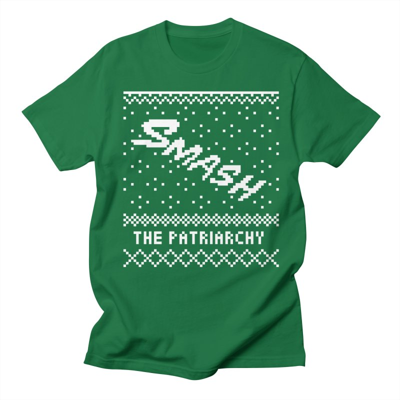 Smash The Patriarchy XMAS Men's T-Shirt by Resist Hate