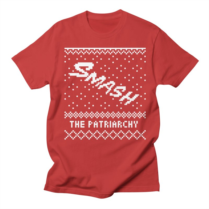 Smash The Patriarchy XMAS Men's Regular T-Shirt by Resist Hate