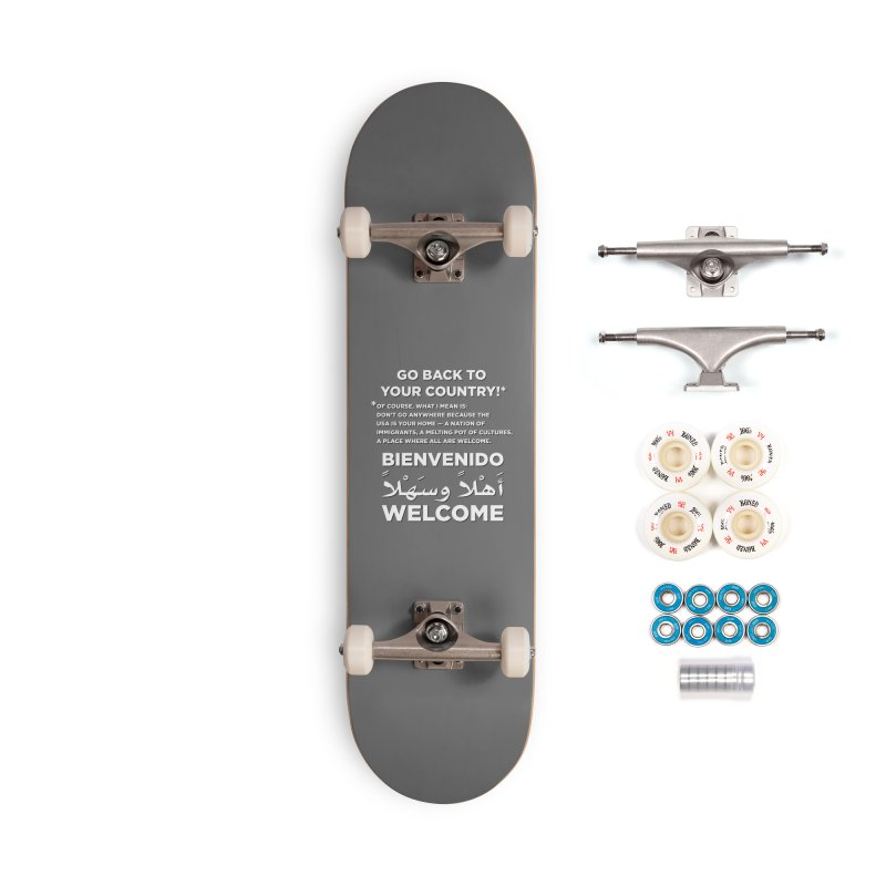 Welcome Home Accessories Complete - Premium Skateboard by Resistance Merch