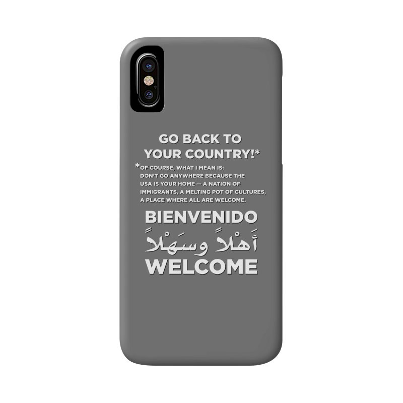 Welcome Home Accessories Phone Case by Resistance Merch