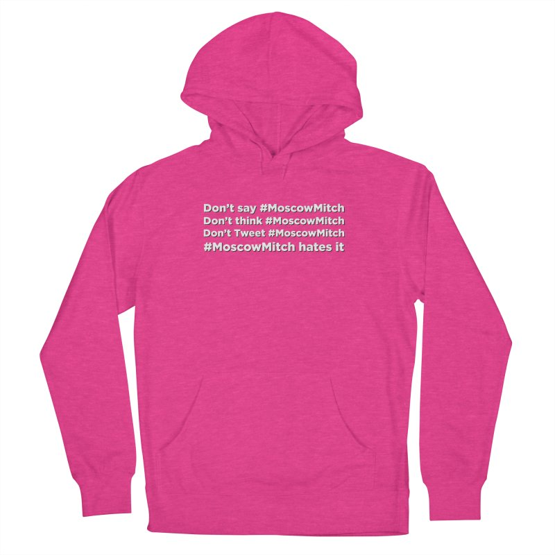 #MoscowMitch Men's French Terry Pullover Hoody by Resistance Merch