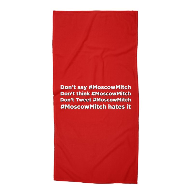 #MoscowMitch Accessories Beach Towel by Resistance Merch