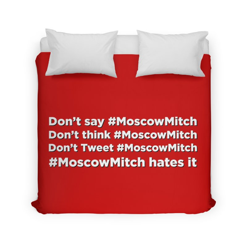 #MoscowMitch Home Duvet by Resistance Merch