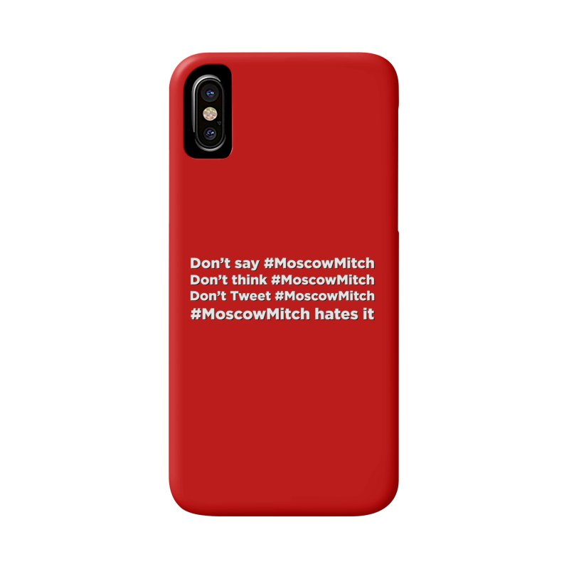 #MoscowMitch Accessories Phone Case by Resistance Merch