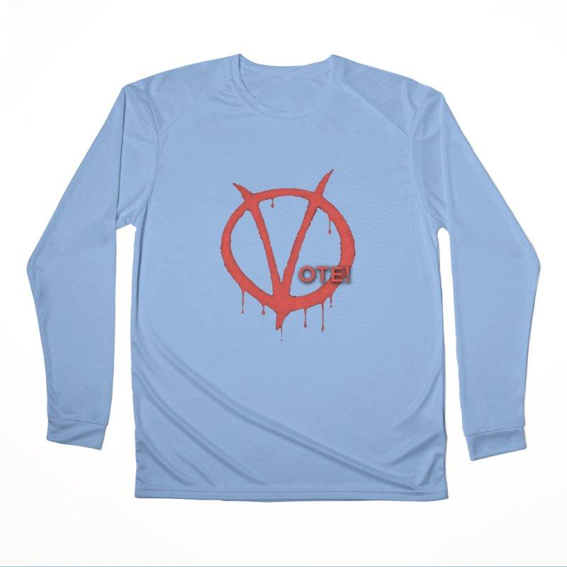V for Vote Women's Longsleeve T-Shirt by Resistance Merch