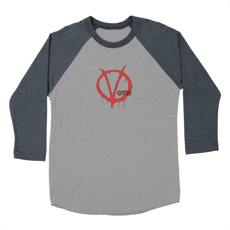 V for Vote Men's Longsleeve T-Shirt by Resistance Merch