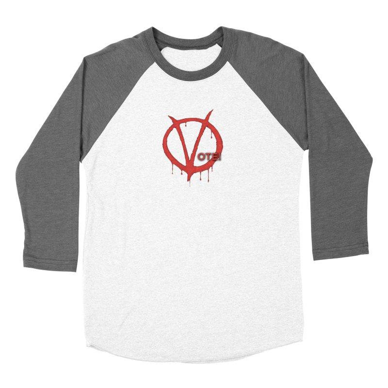 V for Vote Men's Longsleeve T-Shirt by Resistance Merch