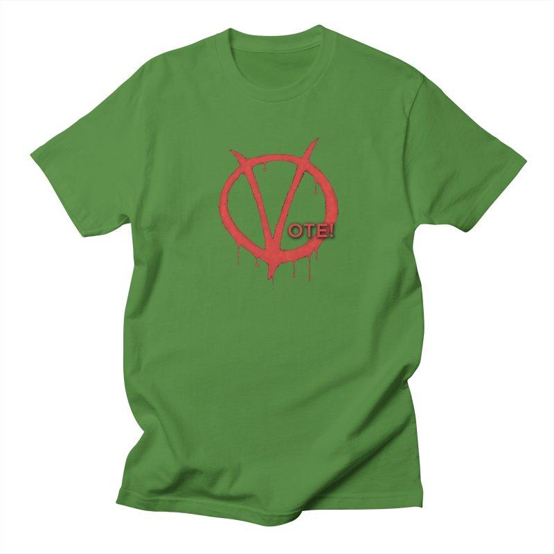 V for Vote Men's T-Shirt by Resistance Merch