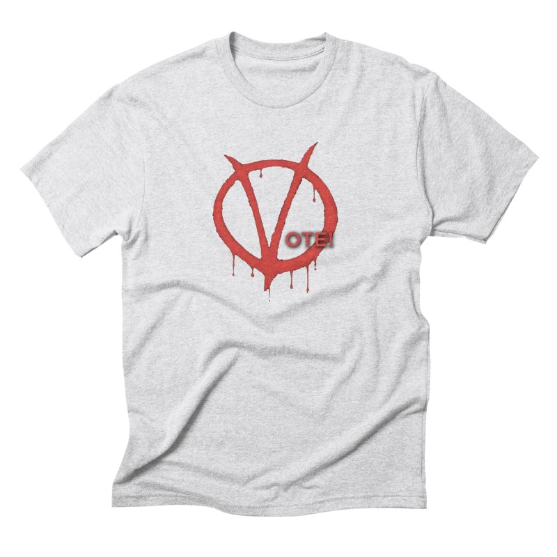 V for Vote Men's Triblend T-Shirt by Resistance Merch