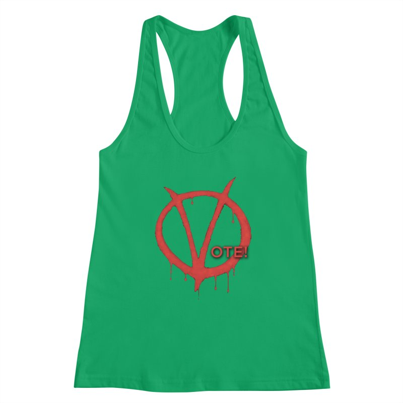 V for Vote Women's Tank by Resistance Merch