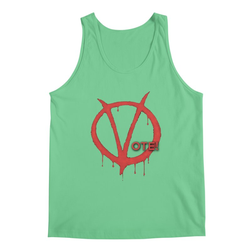 V for Vote Men's Tank by Resistance Merch