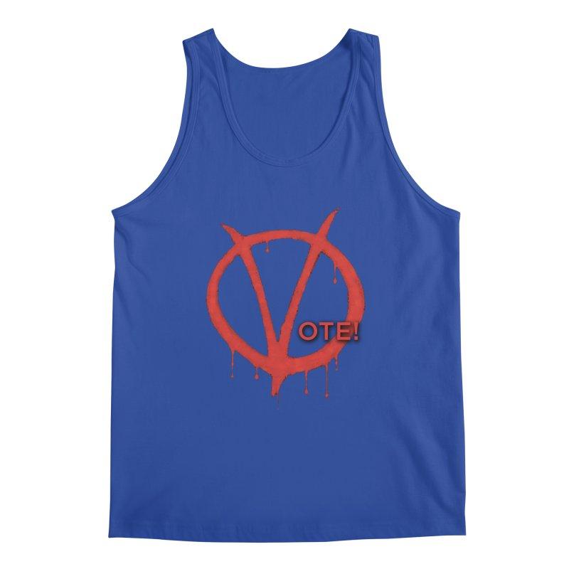 V for Vote Men's Regular Tank by Resistance Merch