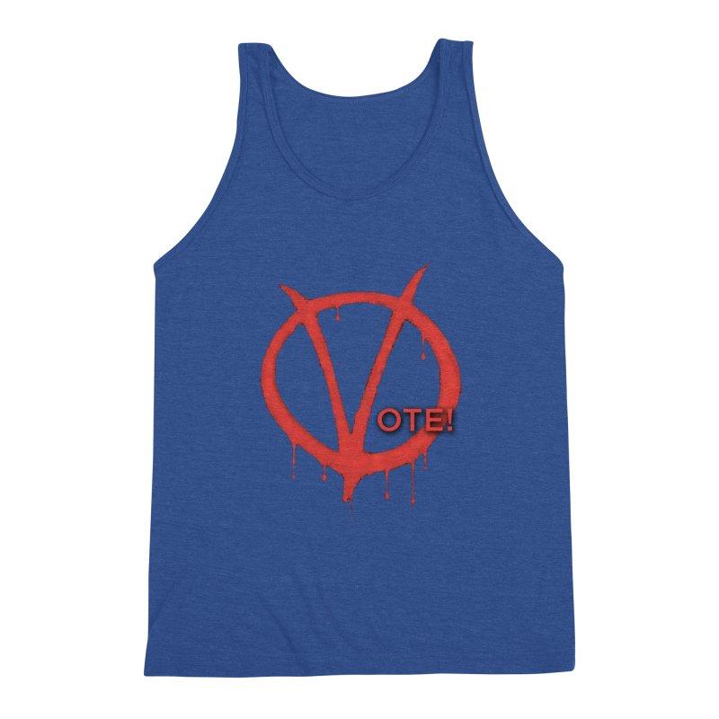 V for Vote Men's Tank by Resistance Merch