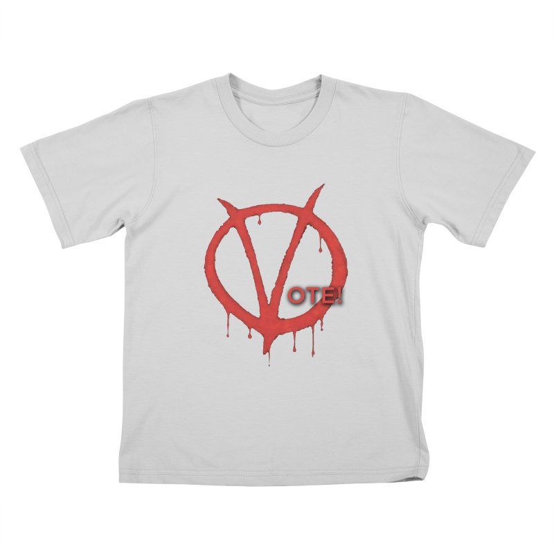 V for Vote Kids T-Shirt by Resistance Merch